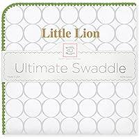 SwaddleDesigns Ultimate Swaddle Blanket, Made in USA, Southeastern Louisiana University, Little Lion [並行輸入品]