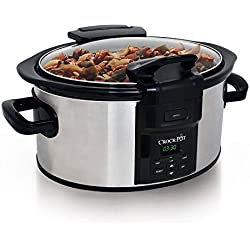 CrockPot Lift & Serve Slow Cooker, Stainless Steel