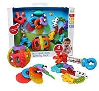 Playgro 4 Piece Twist and Chew Activity Gift Pack [並行輸入品]