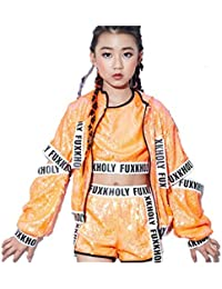 e96151970f6e31 Amazon.co.jp: オレンジ - トレーナー・パーカー / ガールズ: 服 ...