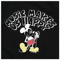 FUJI ROCK FESTIVAL'17 × BEAMS Yusuke Hanai ミッキーマウス Let It Rock Tee Shirts Mサイズ ブラック
