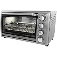 Black & Decker TO4314SSD Rotisserie Convection Countertop Toaster Oven, Silver [並行輸入品]