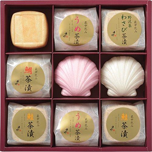 令和元年 お歳暮 ギフト 2019 千粋 最中お茶漬詰合せ(9食) (ラッピング包装のみ)