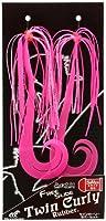 ハヤブサ(Hayabusa) タイラバ 無双真鯛 フリースライド ツインカーリー ラバーセット ピンクピンク #7 SE134-7