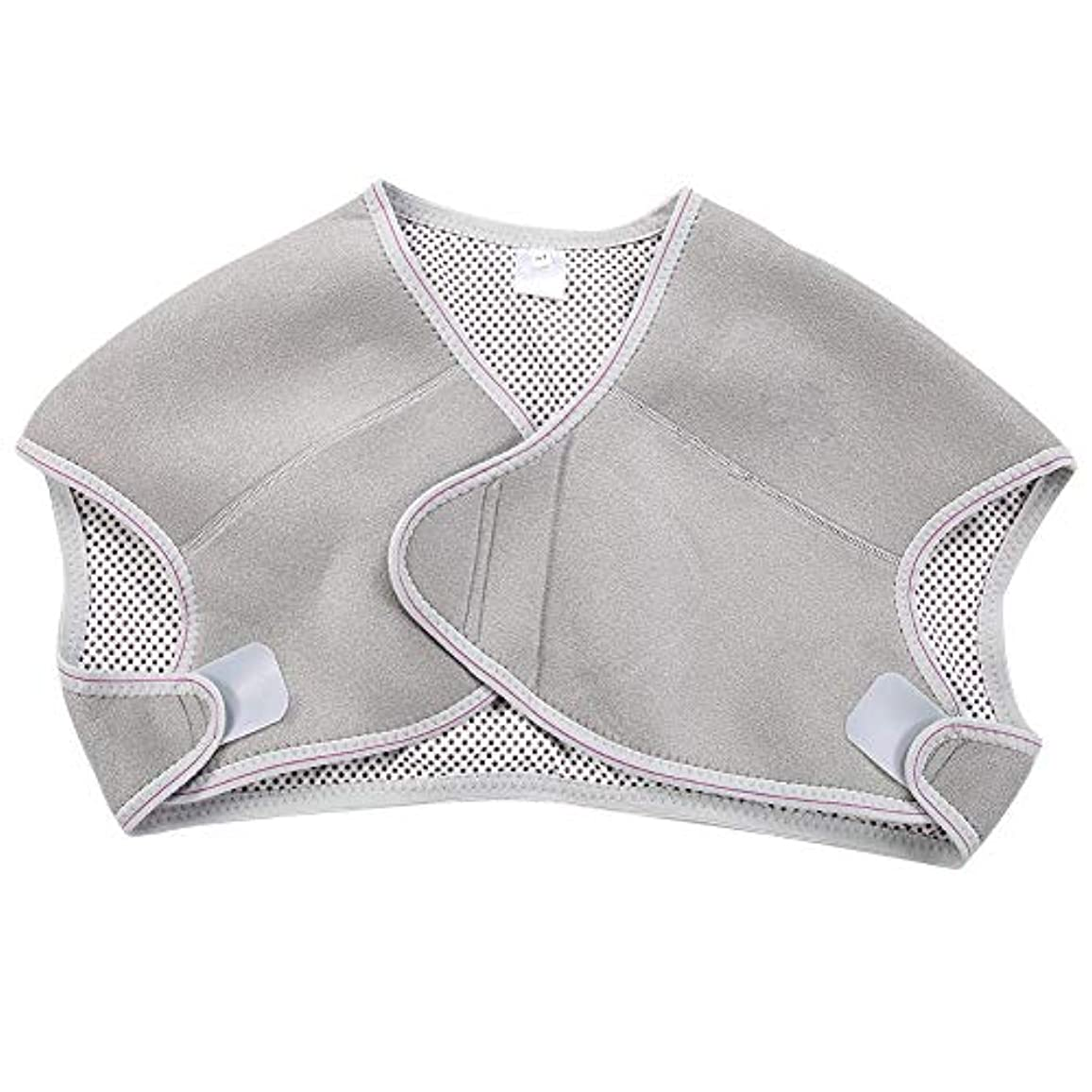 TOPINCN 肩パッド 発熱療法磁気ショルダーパッド 肩 温め ホット 血行促進 ホット 痛み解消 着脱 簡単 男女兼用 調節可能 自己発熱(M)