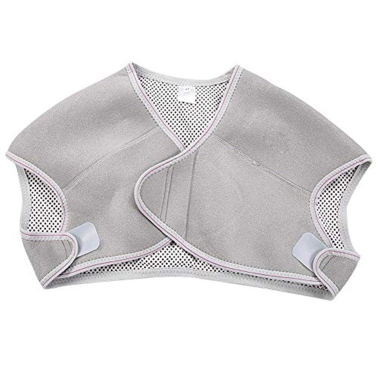 取得既婚解釈TOPINCN 肩パッド 発熱療法磁気ショルダーパッド 肩 温め ホット 血行促進 ホット 痛み解消 着脱 簡単 男女兼用 調節可能 自己発熱(M)