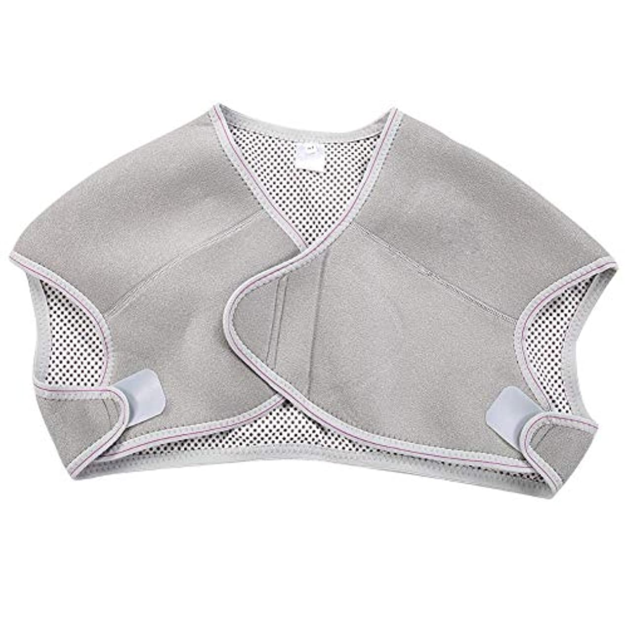 ドメイン頬骨ファンドTOPINCN 肩パッド 発熱療法磁気ショルダーパッド 肩 温め ホット 血行促進 ホット 痛み解消 着脱 簡単 男女兼用 調節可能 自己発熱(M)