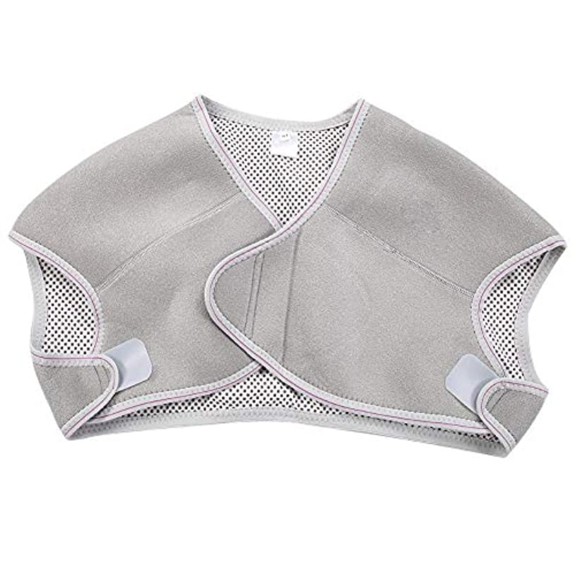 輝くブリッジ一節TOPINCN 肩パッド 発熱療法磁気ショルダーパッド 肩 温め ホット 血行促進 ホット 痛み解消 着脱 簡単 男女兼用 調節可能 自己発熱(M)