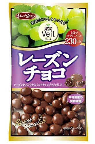グルメな栄養士セレクト洋菓子 レーズンチョコ 47g×12袋