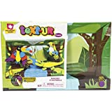 Creative Hands 3553E Text-Ur Foam 3D Kit for Arts and Crafts, 3D Masterpiece Rainforest by Creative Hands
