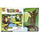 Creative Hands 3553E Text-Ur Foam 3D Kit for Arts and Crafts, 3D Masterpiece Rainforest by Creative Hands
