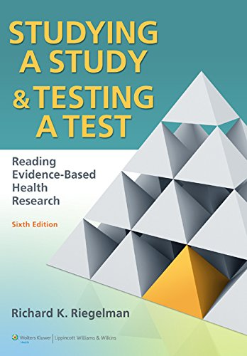 Download Studying A Study and Testing a Test: How to Read the Medical Evidence 0781774268