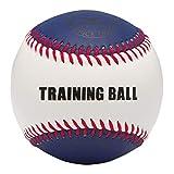 ミズノ(MIZUNO) トレーニングボール スナップ用(320g) 1BJBH802 ホワイト/ブルー