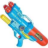 夏の水鉄砲子供の水鉄砲のおもちゃのバックパック水鉄砲ビーチのおもちゃプレイ水鉄砲夏の熱いおもちゃ水鉄砲 ( Color : Blue , Size : L )