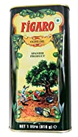 Figaro 1 Olive Oil Tin, 1L(Ship from India)