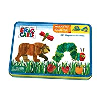 [Mudpuppy]Mudpuppy The World of Eric Carle  The Very Hungry Caterpillar & Friends Magnetic Character Set 9780735342132 [並行輸入品]
