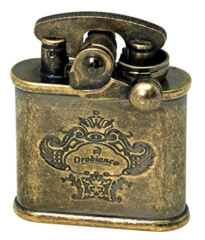 申込み理解器官Orobianco (オロビアンコ) オイルライター アンティークブラスバレル ORL-12BB コリブリ(Colibri) ライター