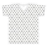 『龍が如く』代紋モノグラムTシャツ ホワイト M
