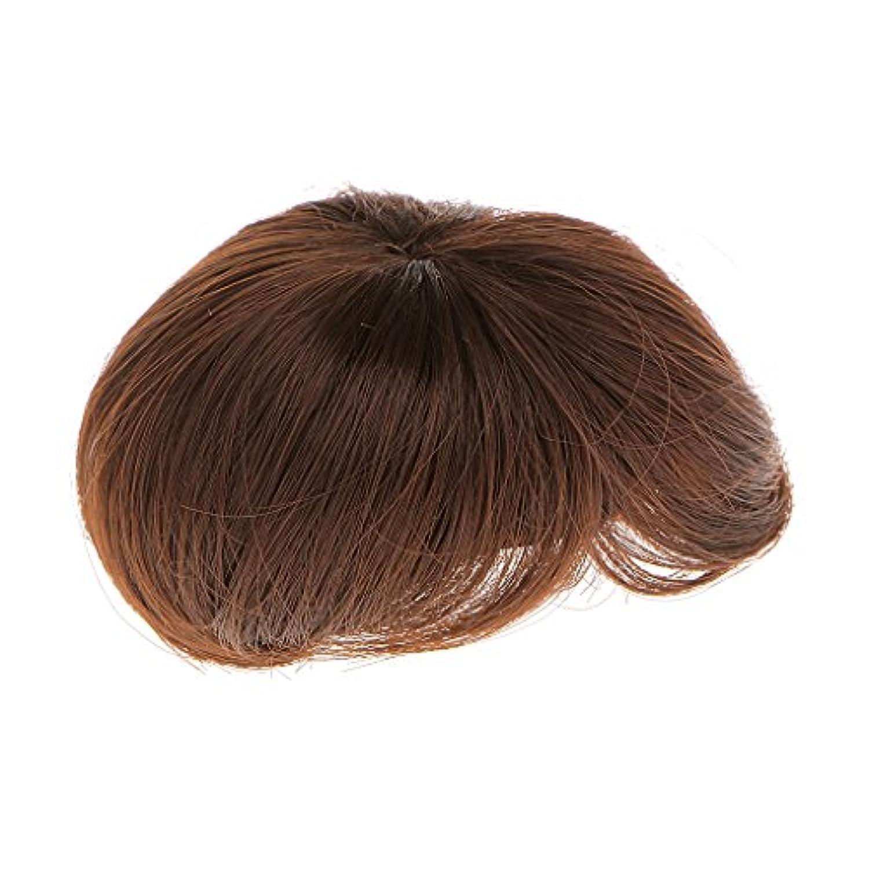 【ノーブランド品】コーヒー 高温ワイヤー製 1/3  人形 ファッション コーヒー 短い髪 ヘアピース
