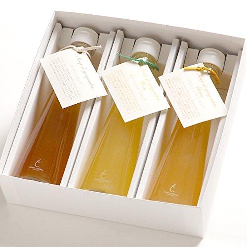 銀座のジンジャー 定番 3本セット (プレーン、柚子、レモン) 1箱[計600ml]