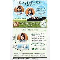 非売品 限定 AKB48 SKE48 NMB48 HKT48 NGT48選抜総選挙シングル 願い事の持ち腐れ BIG缶バッジセット 柏木由紀 北原里英 神の手 グッズ
