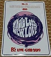 B'z B'z LIVE-GYM 2019 6 15(土) 三重県営サンアリーナ メモリアルプレート