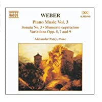Weber:Piano Works Vol.3