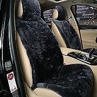 LIUXUEPING ユニバーサルウィンターカーフロントシートカバーシングルカーシートクッションノンリップフロントシートパッド(背もたれは8色パックあり) (色 : Gray)