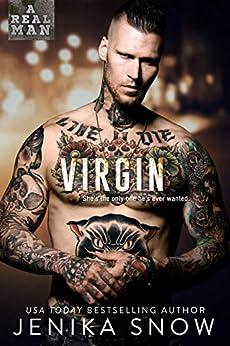 Virgin (A Real Man, 2) by [Snow, Jenika]