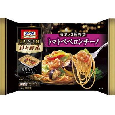 【冷凍】【12パック】オーマイプレミアム 彩々野菜 トマトペペ...