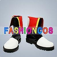 ★サイズ選択可★女性22CM UA0875 VOCALOID 亜種AKAITO コスプレ靴 ブーツ