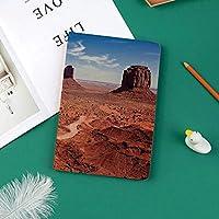 印刷者IPad Pro 11 ケースiPad Pro 11 カバー 軽量 薄型 PUレザー 三つ折スタンド オートスリープ機能 2018年秋発売のiPad Pro 11インチ専用アメリカンデザートアリゾナキャニオンモニュメントバレー国立公園ワイルドウエスト