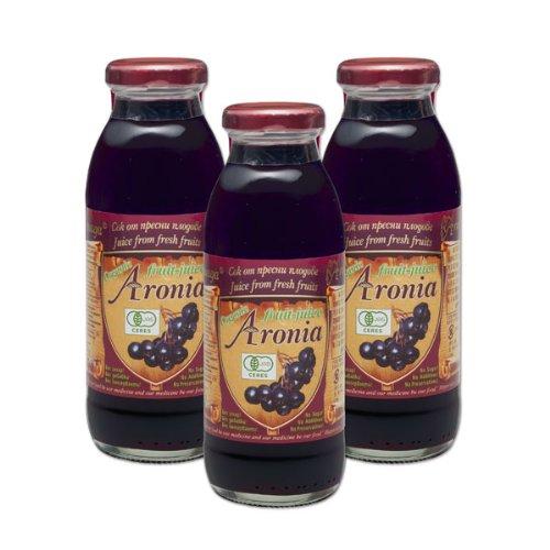 有機アロニア100%果汁 3ビンセット