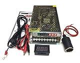 【CPGS】100V→12V AC-DCコンバーター 直流安定化電源 直流電源装置 変換器 20A 240W 配線 日本語説明書付き