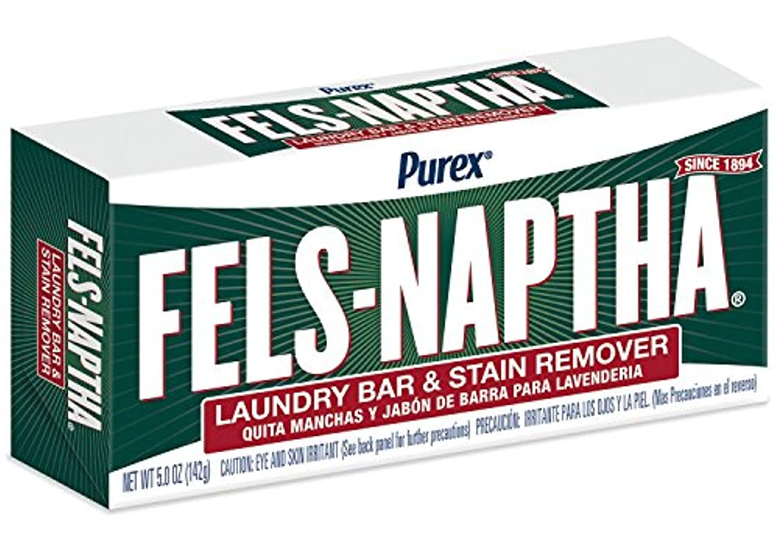 投資する頬抜粋Fels Naptha Laundry Bar and Stain Remover, 5.5 Ounce by Fels Naptha