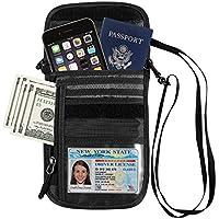 GOWISS パスポートケース パスポートバッグ ネックポーチ スキミング防止 カードケース 海外旅行グッズ 防水 大容量 iPhone 7 Plus収納可 貴重品入れ セキュリティ プレゼント ギフト トラベルポーチ パスポート ポーチ