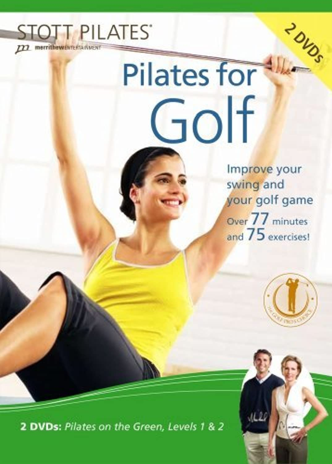STOTT PILATES Pilates for Golf DVD 2 DVD Set