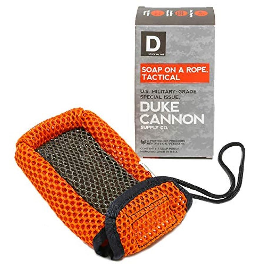 再撮り噴出する綺麗なDuke Cannon ロープのポーチには戦術的なソープ
