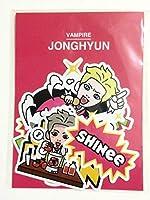 SHINee HORROR SHOW 公式 ステッカー シール ジョンヒョン JONGHYUN