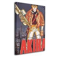 Akira 装飾画 壁掛け 絵画 アートパネル インテリア ポスター 横 玄関 木製額縁なし現代 モダンアート 部屋飾り 壁掛け式 壁の絵 軽くて取り付けやすい 居間