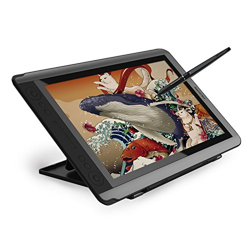 HUION GT-156HDV2 drawing tablet with screen full HD 15.6 inch 8192 level pressure sensing drawing tablet with screen