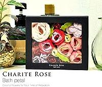 LAND PLANTS シャリテローズ フラワーバスペタル CHARITE ROSE BATH PETAL 入浴剤【赤/グロスローズ】