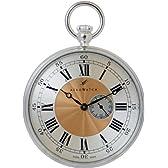 [アエロウォッチ]AEROWATCH 懐中時計 オープンフェイス(925純銀) スモールセコンド スケルトンバック 手巻き式 シルバー SWISS MADE 34744 A901  【正規輸入品】