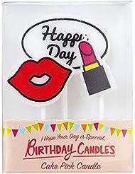 カメヤマキャンドル(kameyama candle) ケーキピックキャンドル 「レディ」