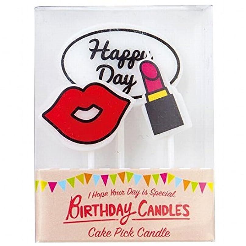 征服する商品コロニアルカメヤマキャンドル(kameyama candle) ケーキピックキャンドル 「レディ」
