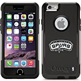 Coveroo Commuter Series Black Cell Phone Case for iPhone 6 - Retail Packaging - San Antonio Spurs [並行輸入品]