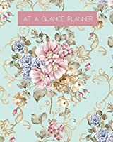 At a Glance Planner: Best Daily Planner/Action Day Planner/Day Planner