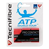 (Red) - Tecnifibre ATP Pro Contact 3 Pack Overgrip