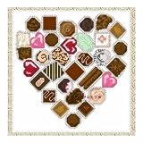 これ素敵っ クロスステッチ 刺繍キット ビーズ使用 チョコレート L306