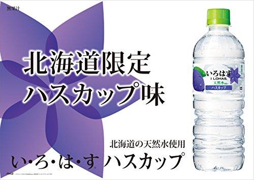 い・ろ・は・す ハスカップ 555mlPET×24本 北海道限定 [梱包サイズC]